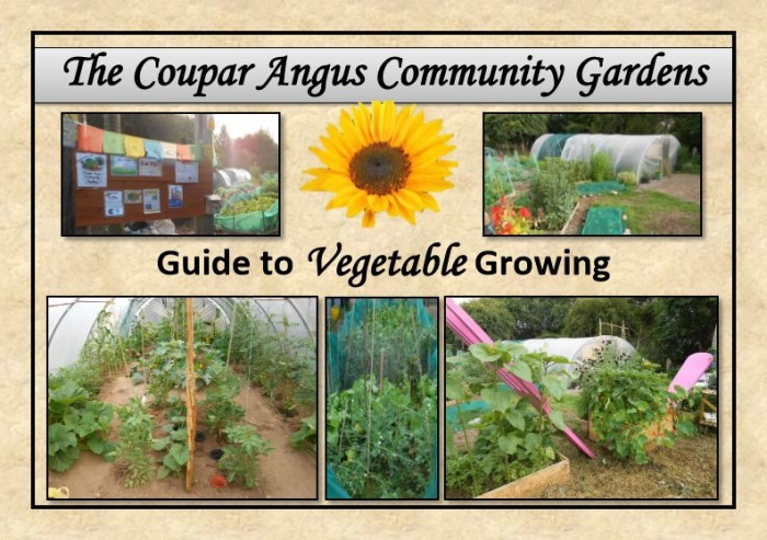 Guide to Vegetable Growing around Coupar Angus-0